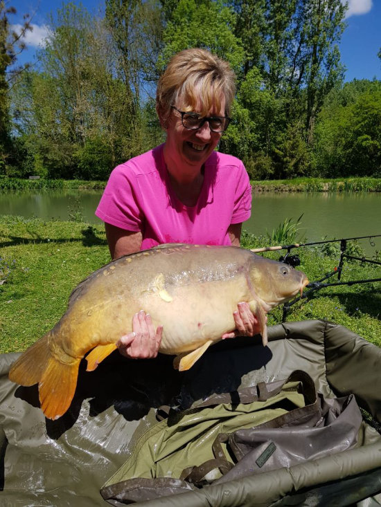 Karen's New WLR of 35.4lbs!